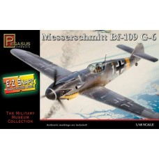 Pegasus Hobby 1/48 Snap, Messersch Bf-109G6 Plastic Model Kit