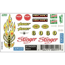 Dry Transfer Decals Stinger