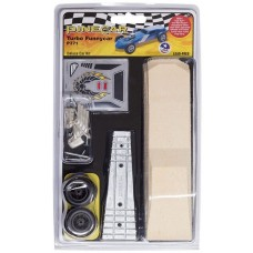 Pinecar Pinewood Derby Car Kit Turbo Funnycar