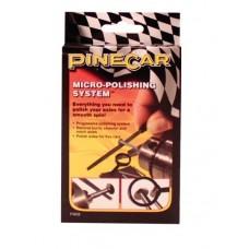 Pinecar Pinewood Derby Axle Micro-Polishing System