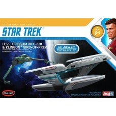 Polar Lights 1/1000 Star Trek USS Grissom & Klingon BoP Plastic Model Set