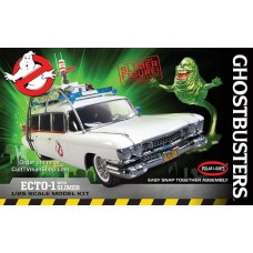 Polar Lights 1/25 Ghostbusters, Ecto-1w/Slimer Snap Plastic Model Kit