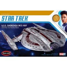 Polar Lights 1:2500 Star Trek USS Shenzhou Snap Plastic Model Kit
