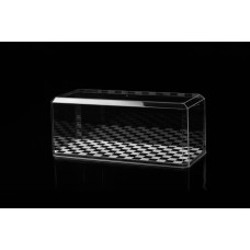Pioneer Plastics 1/25 Stackable Display Case Checker Base