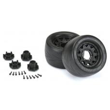 "Pro-Line Prime 2.8"" Mounted Street Tires/Raid Wheels (2)"