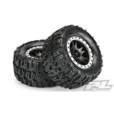"Pro-Line Trencher 4.3"" Pro-Loc All Terrain X-Maxx Tires Mounted"