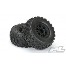 Pro-Line Badlands MX SC M2 Mounted Tires Front Slash 2wd