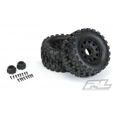 "Pro-Line Badlands MX38 HP 3.8"" Belted Mounted Truck Tires 10166-10"