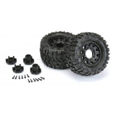 """Pro-Line Trencher 2.8"""" Mounted Tires/Raid Wheels (2)"""