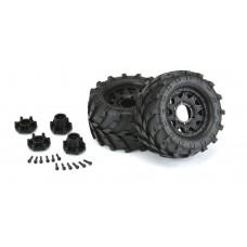 "Pro-Line Masher 2.8"" Mounted Tires/Raid Wheels (2)"