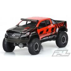 "Pro-Line Chevy Colorado ZR2 12.3"" Clear Crawler Body"