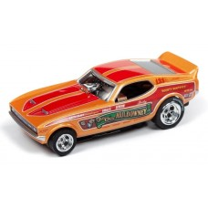 Auto World Shirley Cha Cha Muldowney Mustang Electric HO Slot Car