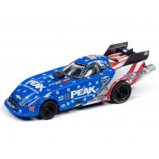 Auto World HO 4Gear John Force Peak Camaro Funny Car Slot Car