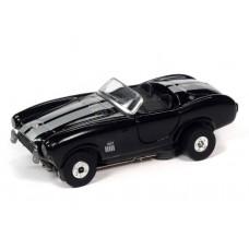 Auto World Thunderjet 1967 Shelby Cobra 427 Black HO Electric Slot Car