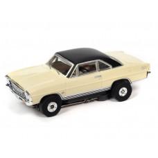 Auto World Thunderjet 1966 Chevy Nova SS Yellow HO Electric Slot Car