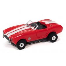 Auto World Thunderjet 1965 Shelby Cobra 427 Red HO Electric Slot Car