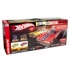 Auto World Legends of the Quarter Mile HO Scale Dragstrip Slot Car Set SRS330