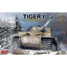 RyeField Model 1/35 Tiger I early w/interior Plastic Model Kit