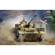 RyeField Model 1/35 Panzer IV Ausf.J w/Interior Plastic Model Kit
