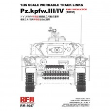 RyeField Model 1/35 Track Links Panzer III/IV Workable Track Link Kit