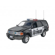 Revell 1/25 Ford Expedition Police Plastic Model Kit