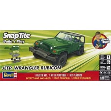 Revell 1:25 Jeep Wrangler Rubicon Plastic Model Kit