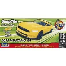 Revell 1/25 2015 Mustang GT SnapTite Plastic Model Kit