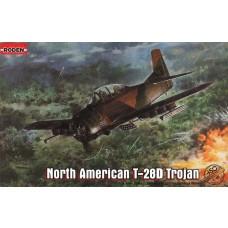 Roden 1:48 T28D Trojan USAF Trainer Aircraft Plastic Model Kit