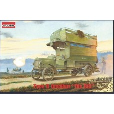 Roden 1:72 Opel Blitz Type B Bus Plastic Model Kit