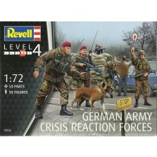 Revell Germany 1/72 German Task Force SFOR/KF Plastic Model Kit