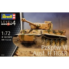 Revell Germany 1:72 PzKpfw VI Ausf H TIGER Plastic Model Kit