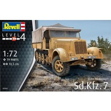 Revell Germany 1:72 SD Kfz 7 Plastic Model Kit