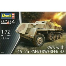 Revell Germany 1:72 sWS with 15cm PANZERWERFER 42 Plastic Model Kit