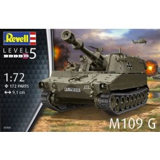Revell Germany 1:72 M109 USA Plastic Model Kit