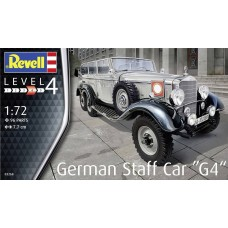 Revell Germany 1:72 GERMAN STAFF CAR G4 Plastic Model Kit