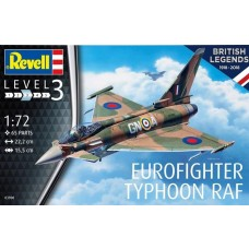 Revell Germany 1:72 100YR Eurofighter Typhoon RAF Plastic Model Kit