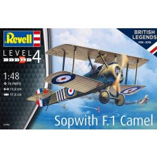 Revell Germany 1:48 Sopwith F.1 Camel Plastic Model Kit