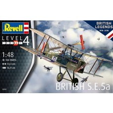 Revell Germany 1:48 British S.E.5a Plastic Model Kit