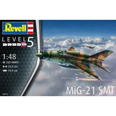 Revell Germany 1:48 MIG 21 SMT Plastic Model Kit