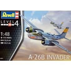 Revell Germany 1/48 A-26B Invader Plastic Model Kit