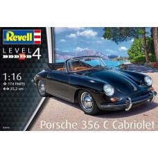 Revell Germany 1:16 Porsche 356 C Cabriolet Plastic Model Kit