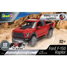 Revell Germany 1:25 Ford F-150 Raptor Plastic Model Kit