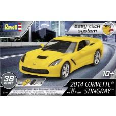 Revell Germany 1:25 2014 Corvette Stingray Plastic Model Kit