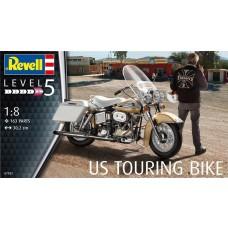 Revell Germany 1:8 US Touring Bike Plastic Model Kit