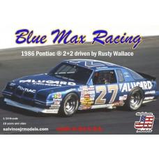 Salvino JR 1/25 Blue Max 1986 Pontiac 2x2 Plastic Model Kit