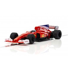Scalextric 1/32 Red Stallion F1 Car Super Resistant Slot Car