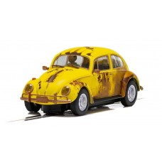 Scalextric Volkswagen Beetle Rusty Yellow 1/32 Slot Car