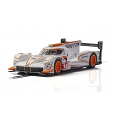 Scalextric Ginetta G60-LT-P1 No 14 - White/Orange Slot Car
