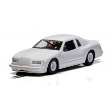 Scalextric White Ford Thunderbird 1/32 Slot Car