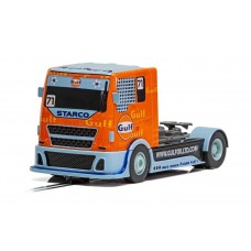 Scalextric Gulf Racing Truck Slot Car
